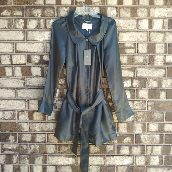 7 For All Mankind Dresses & Skirts - NWT 7 FAM metallic silk dress size large